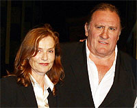 Huppert y Depardieu